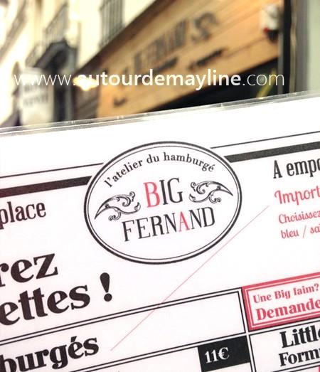 L'hamburger Big Fernand made in Paris, on a testé pour vous !