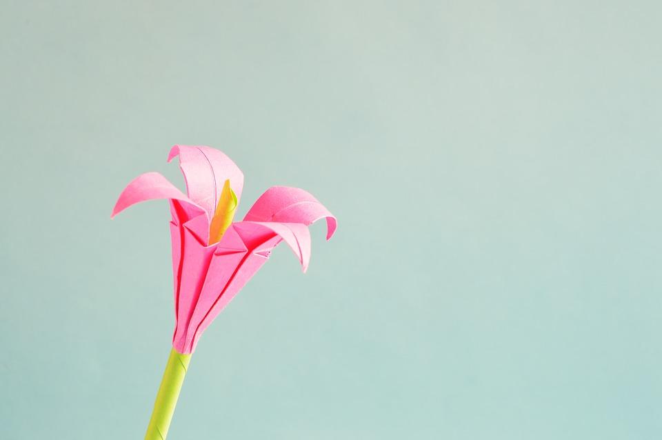 Fleur origami : 5 tutos faciles