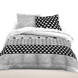 Linge de lit à motifs