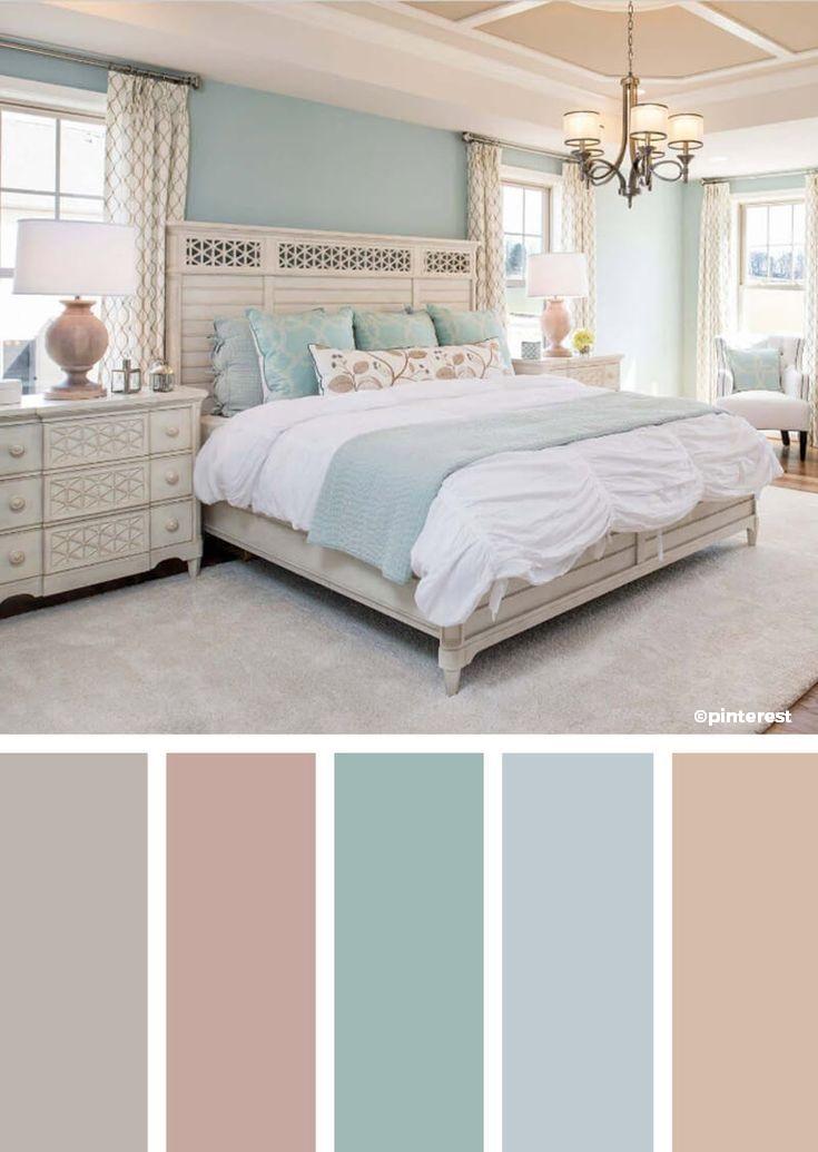 Déco chambre couleurs pastelles