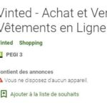 Les sites et applications comme Vinted